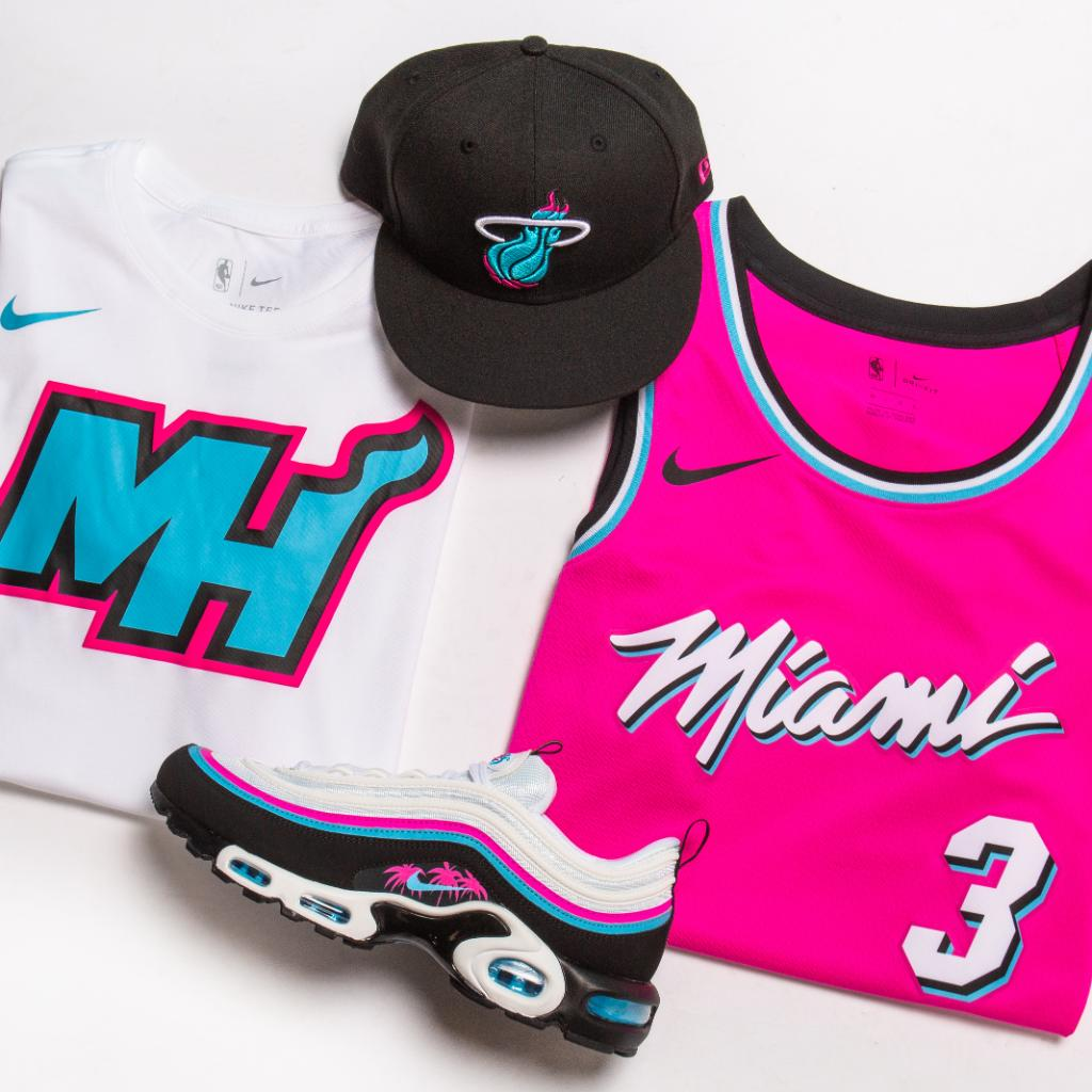 newest 53a68 a5e91 South Beach Style Nike City Edition Jersey Tee Nike Air Max ...