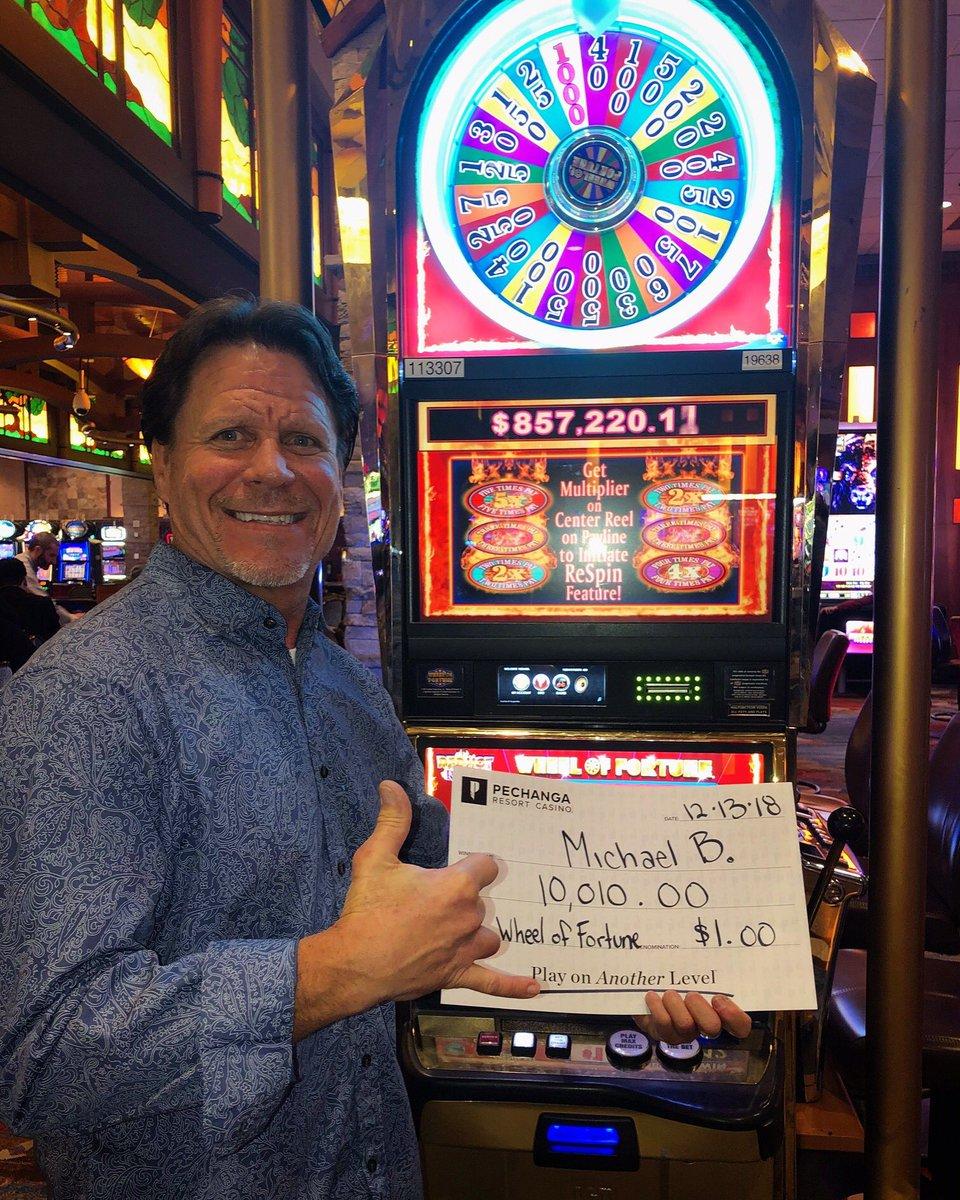 "Pechanga Resort Casino ar Twitter: ""Michael took a spin on #WheelofFortune  & struck it #rich! Congratulations on your #win, we hope you enjoy your  jackpot! 💵 #WinningWednesday #Pechanga #Jackpot #Winning #Winner #Winners #"