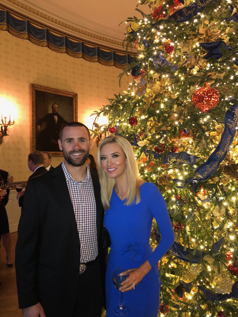 Kayleigh Mcenany On Twitter Great Time At The White House Christmas Party With My Husband Gilmartinsean