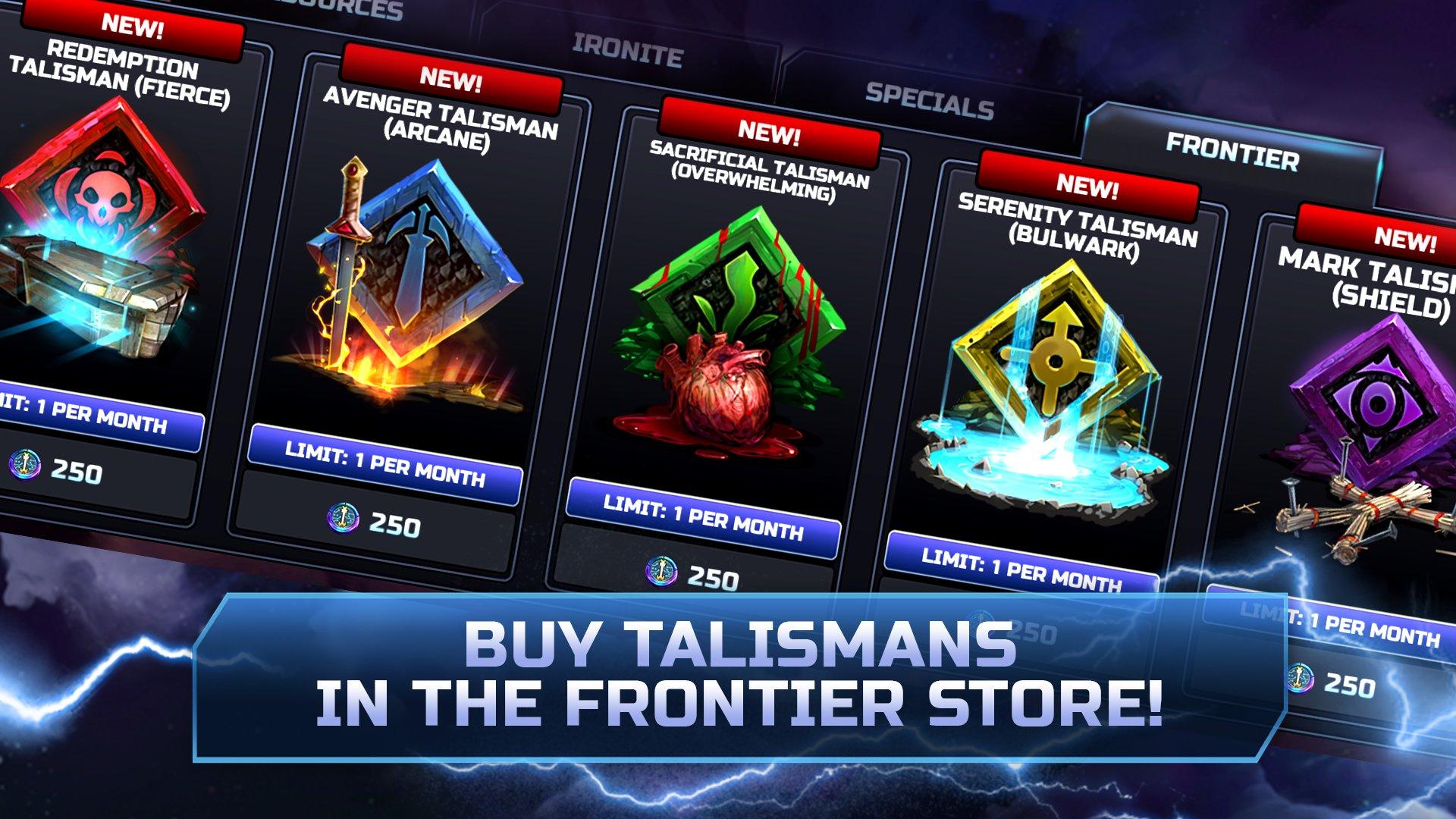 The talisman of legacy beast Talisman Location
