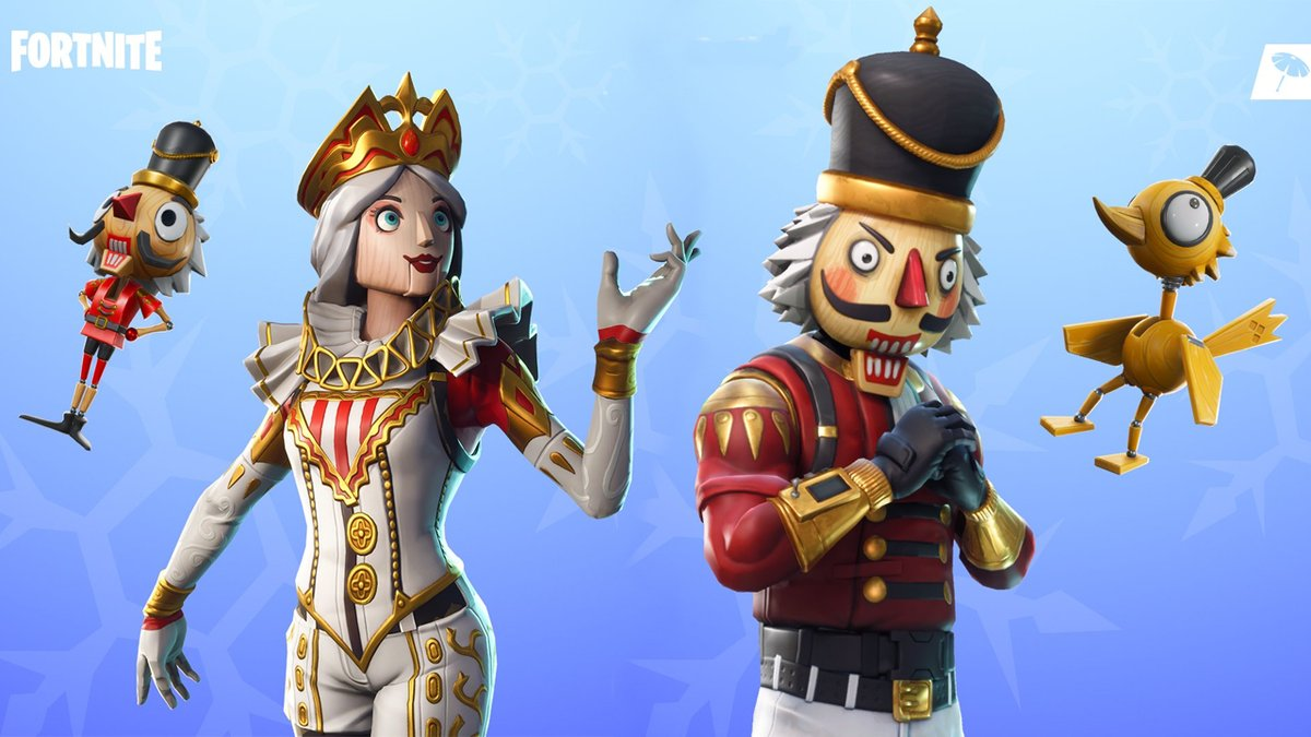 Pack A Puncher On Twitter Nutcracker Skins In Fortnite Want It