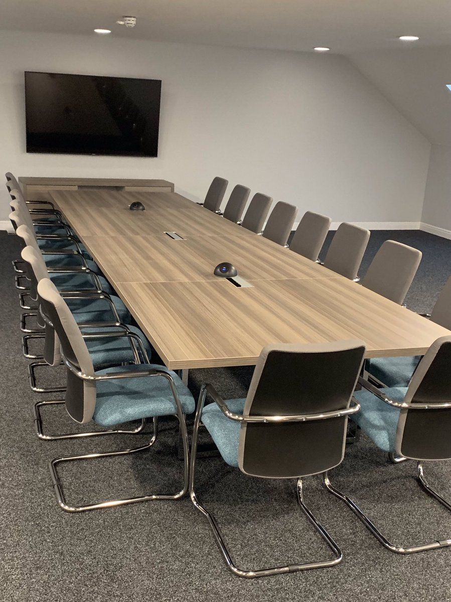 Boardroom Furniture Delivered And Installed For A Client In #Dumfries  Recently. #furniture #office #boardroom #installation #design #workspace  #interiors ...