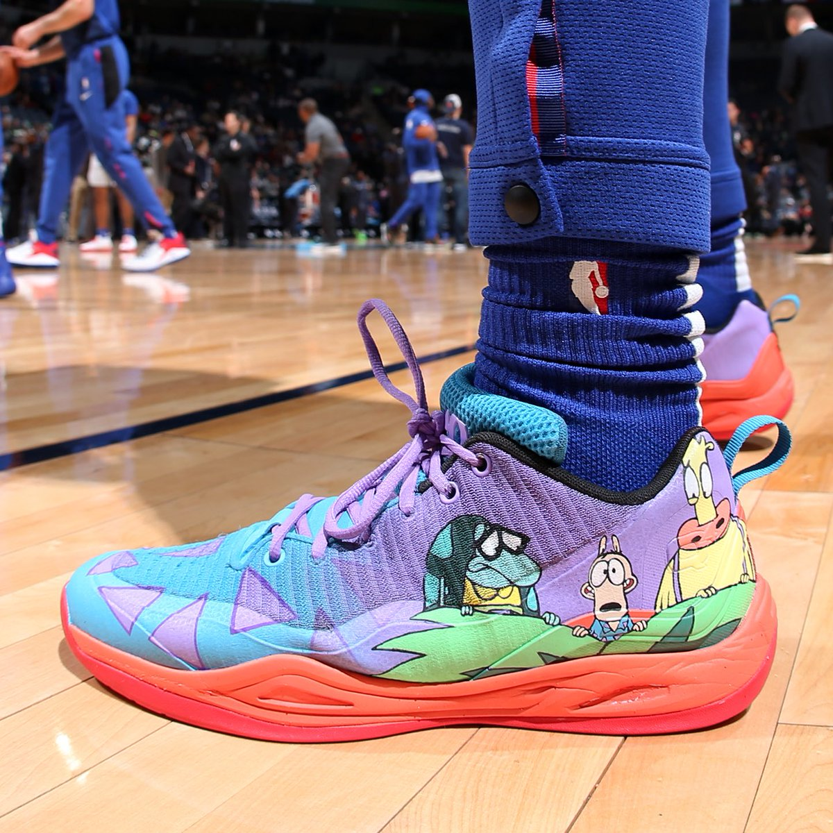 """09c36acf6806b8  SoleWatch   LangGalloway10 in """"Rocko s Modern Life"""" Q4s by  andr3wtl."""