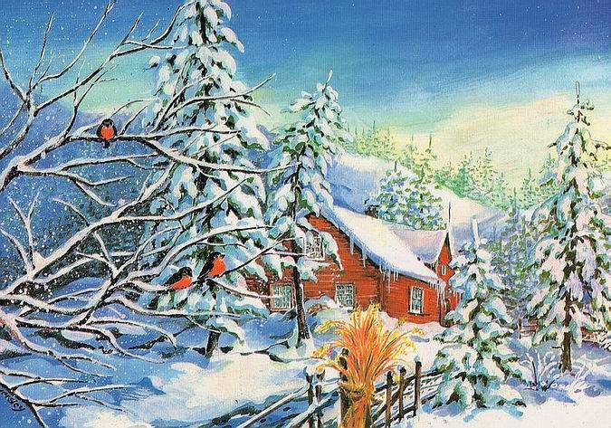 Вредный все, картинки советские зима