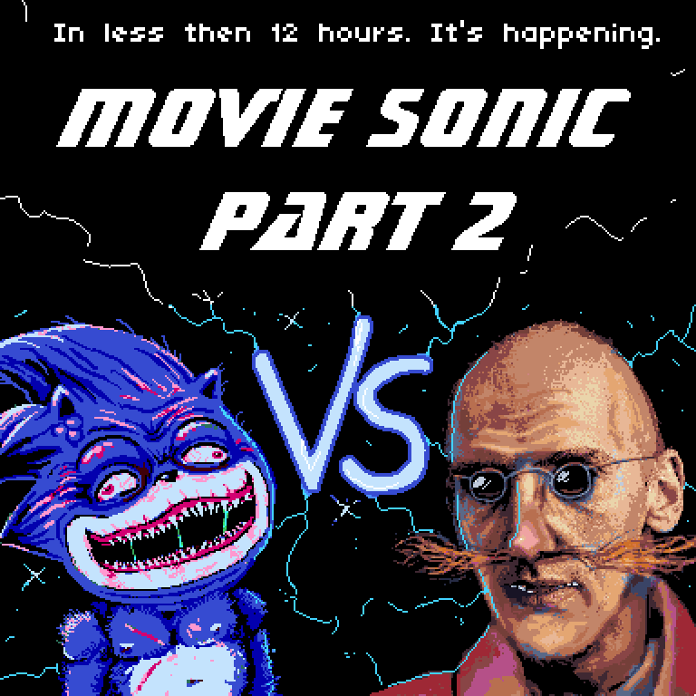 Lumpy On Twitter Movie Sonic Part 2 Drops In Less Than 12 Hours
