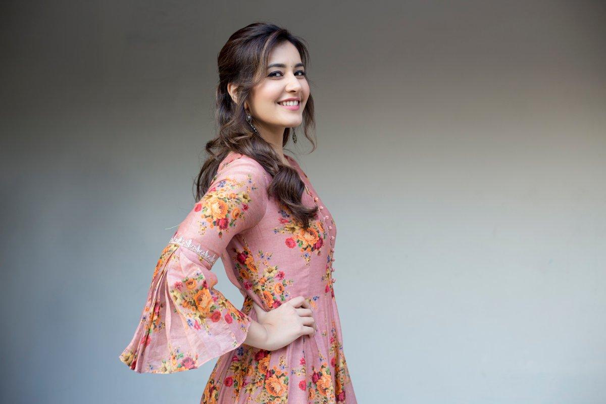 Raashi Khanna happy with the HIT