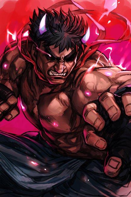 Seimo Ar Twitter Fan Art De Kage Evil Ryu Street Fighter V