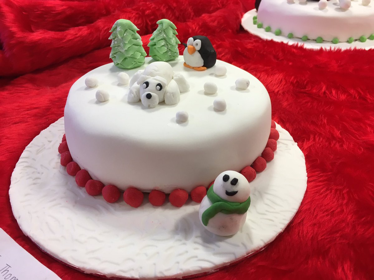 St John S Rc Academy On Twitter Christmas Cakes From Our Talented S6 Bakers In The N5 Cake Craft Class Sph