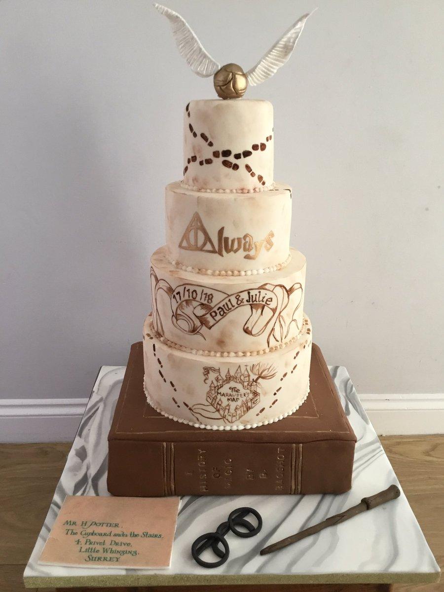 Harry Potter Wedding Cake.Weddingcakeskent Hashtag On Twitter