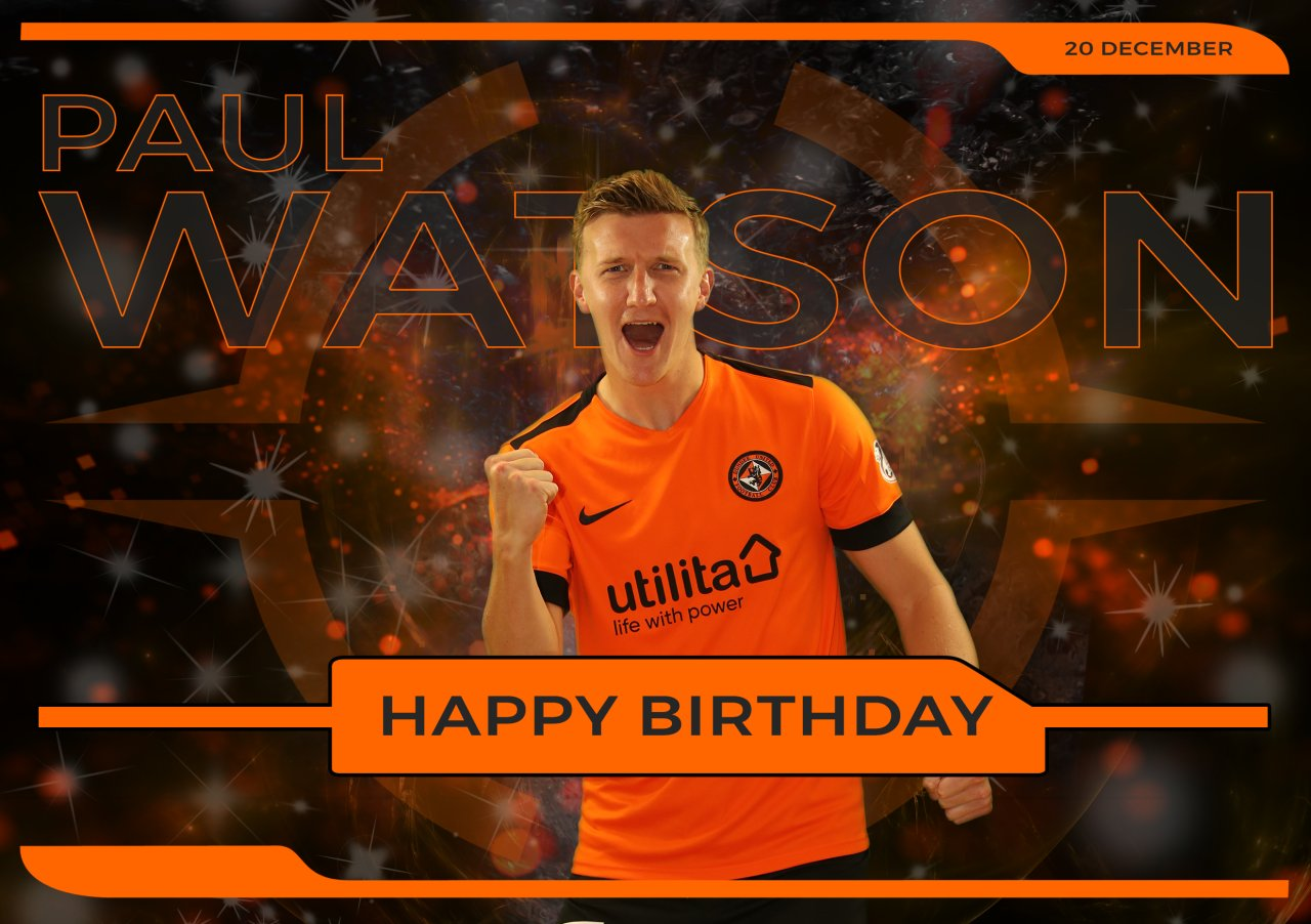 Happy 28th Birthday to Defender Paul Watson.  Have a good one!