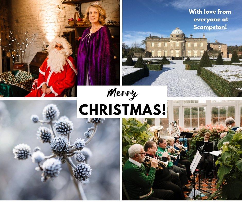 Christmas Scampston Hall