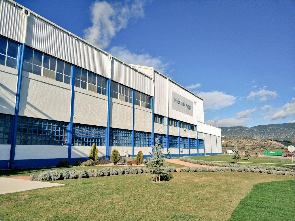Ayer estuvimos en un sitio muy interesante. Visitamos la fábrica de   SmurfitKappa  smurfitkappa ca0a57e87de26