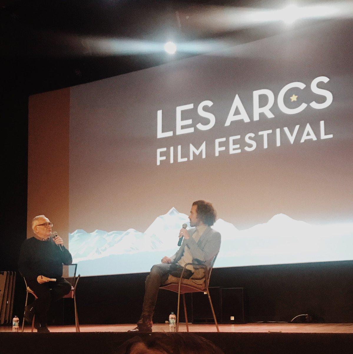 Romain Duris en masterclass au festival Les arcs
