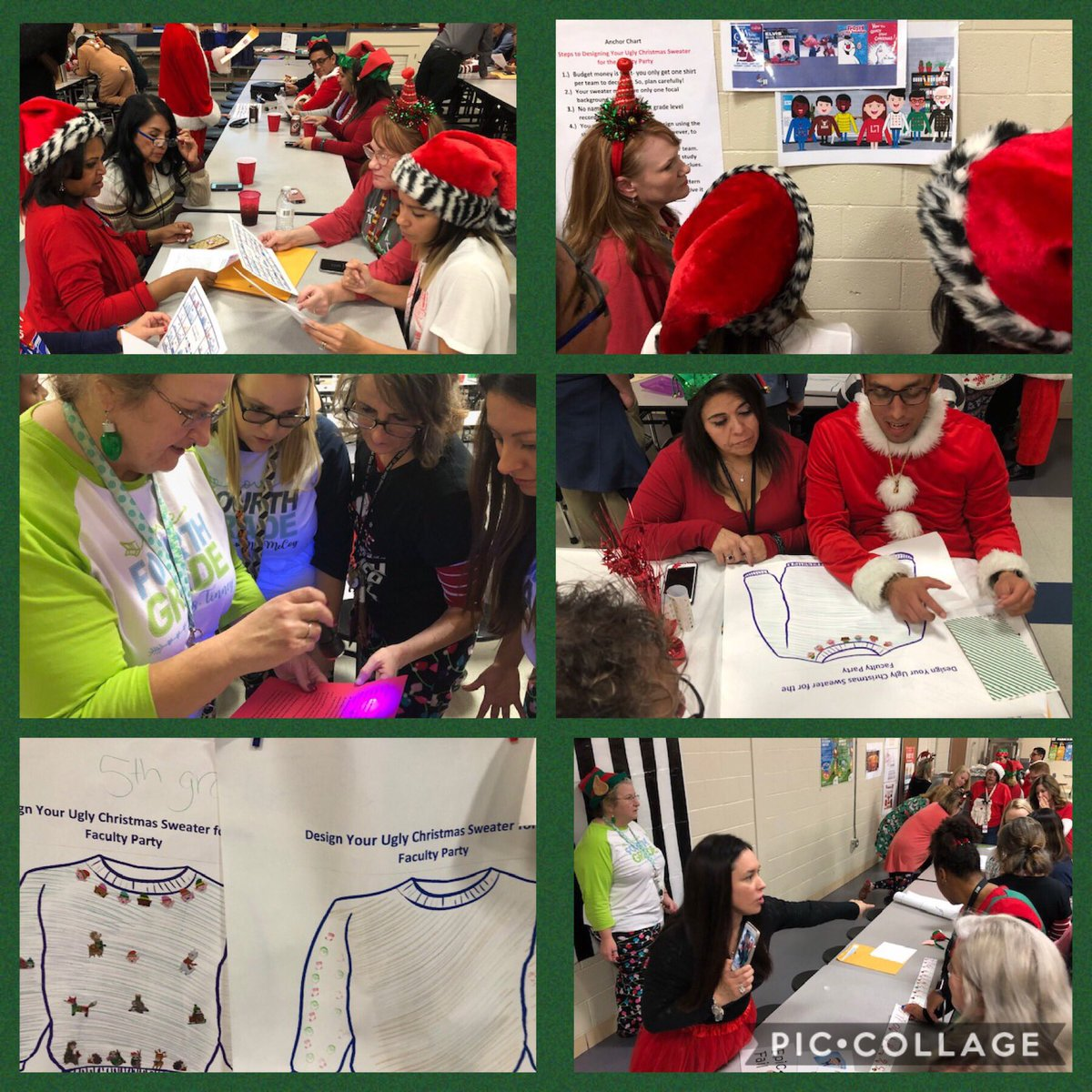 @ThorntonPride Ending 2018 with Holiday Faculty Party BreakoutEdu! It was a great idea Mrs. R to review our first half of the year PD with escape room activities; fun to plan and execute! ❤️Thornton teachers& staff -Happy Holidays! @Lunascowboys @CoachATB