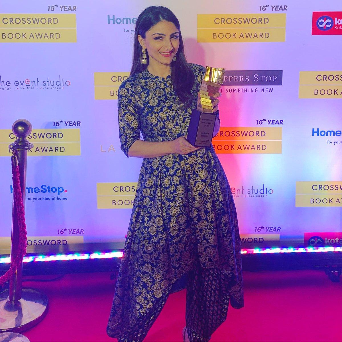 """Image result for soha ali khan crossword book award"""""""