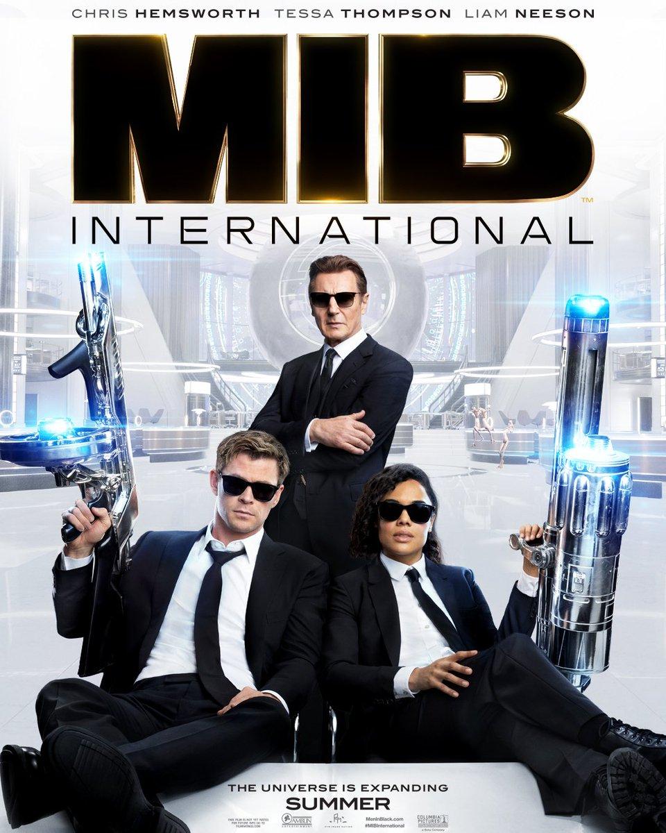 Men in Black International (2019) 720P HDCAM Hindi 1GB