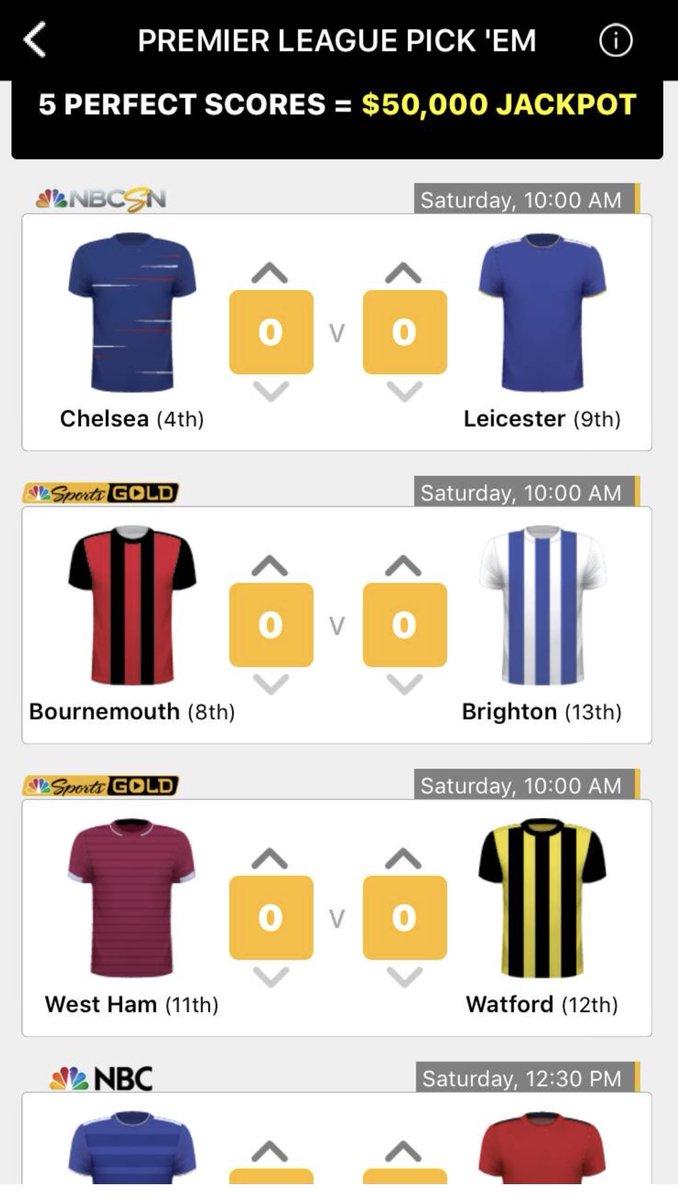 Sports Premier League Pick : NBC Sports released sports