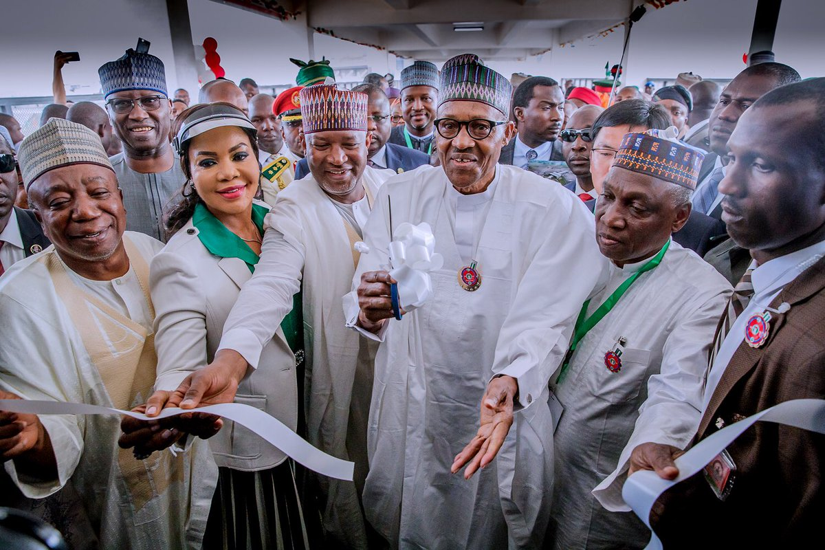 President Buhari Commissioned International Terminal At Abuja Airport