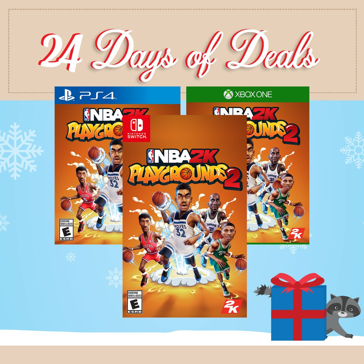 33035174101 Today's deal: Save NBA 2K Playgrounds 2 TODAY ONLY! Shop in-store or online  here: http://bit.ly/2EoZfND Be sure to check back tomorrow for a new ...
