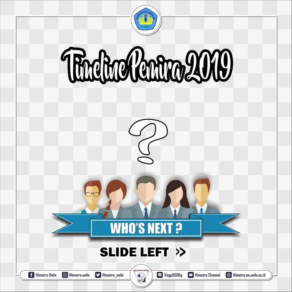 #HIMATRO_NEWS  Sehubungan dengan akan diadakannya Pemilihan Raya 2019, maka akan diselenggarakan serangkaian acara dengan timeline yang tertera pada gambar, yang terdiri dari :  °Wawancara kandidat  °Debat kandidat  °Pemilihan Raya   #PEMIRA2019 #HIMATRO #UNILA #LUARBIASApic.twitter.com/7Zv3MGPOrJ