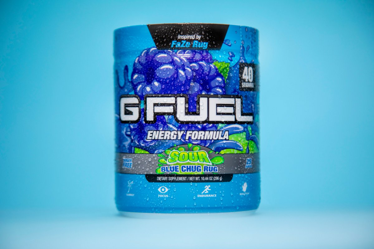 G Fuel On Twitter Chug Rug Update Sour Blue Chug Rug Is Officially Sold Out Folks This Was Such An Amazing Flavor Launch And We Couldn T Have Asked For A