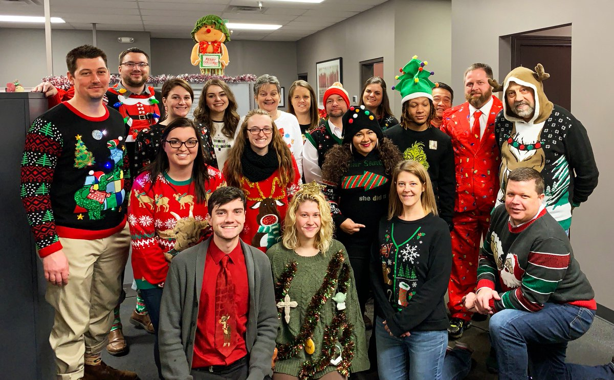 Wirecrafters On Twitter Ugly Sweaters Made Their Way Into The