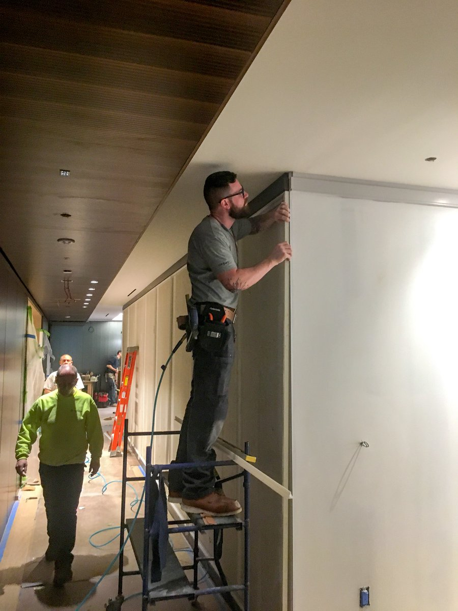 Renovation Work On 395 Hudson Street Is Brought To You By Union Carpenters From New York City District Council Of And Contractor Superior