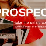 Take the complete online course for Real Estate Prospecting Methods & Techniques at: https://t.co/SM81fCOeQe #realestate #realtor #training