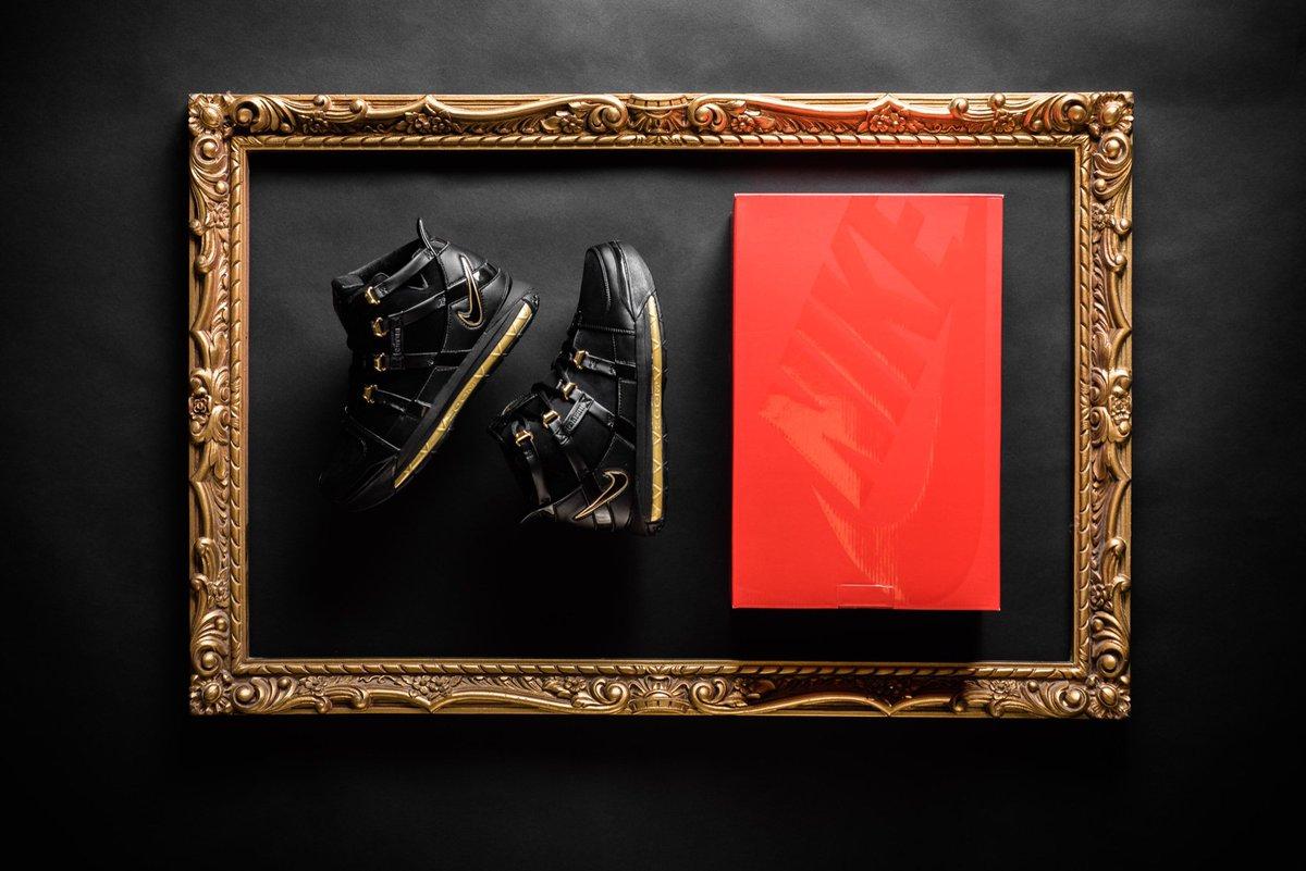 5ba19933f11 Now Available    Nike Zoom LeBron III QS - Black Metallic     https    sneakerpolitics.com products nike-zoom-lebron-iii-qs-black-metallic-gold …  ...