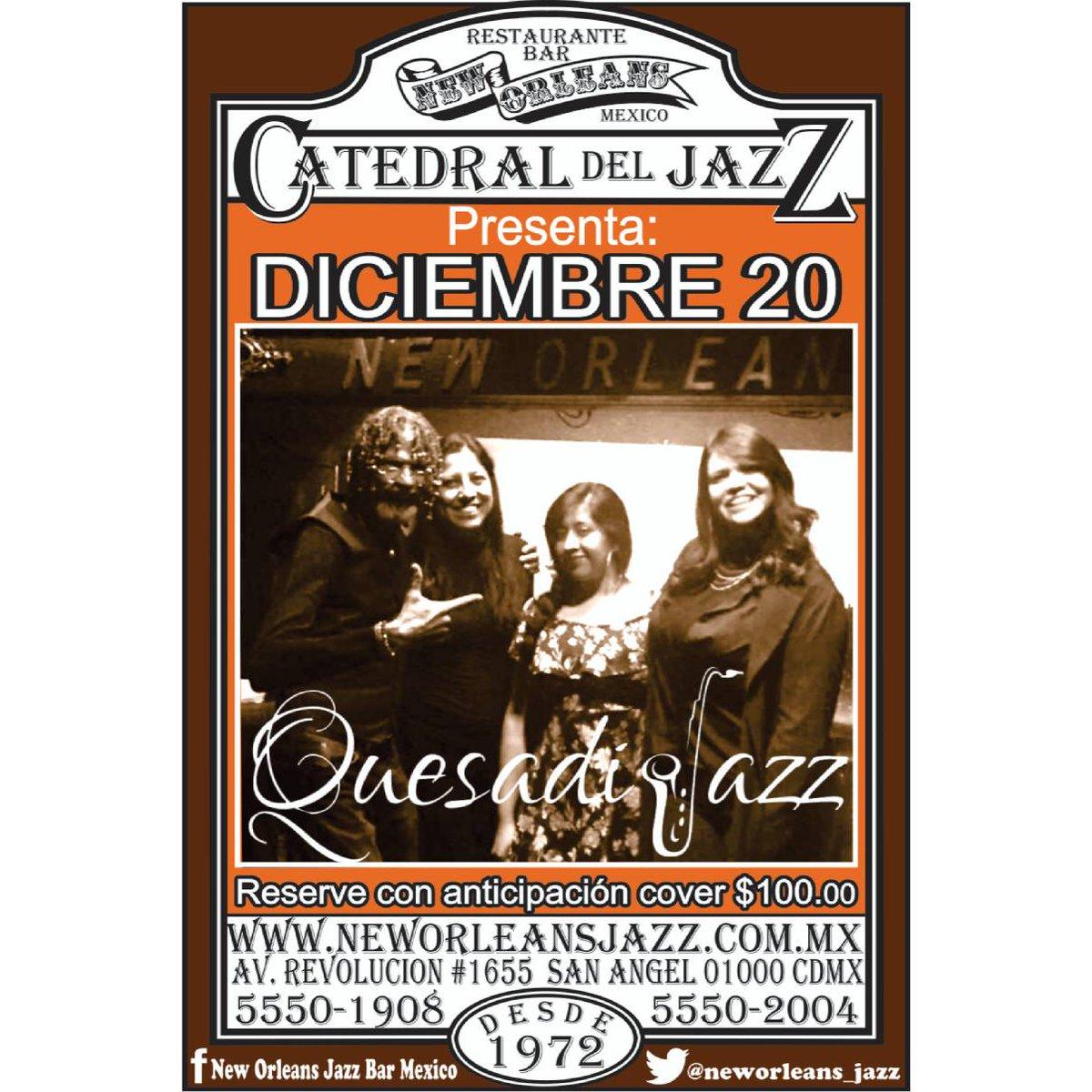 New Orleans Jazz Bar México On Twitter Jueves 20 De