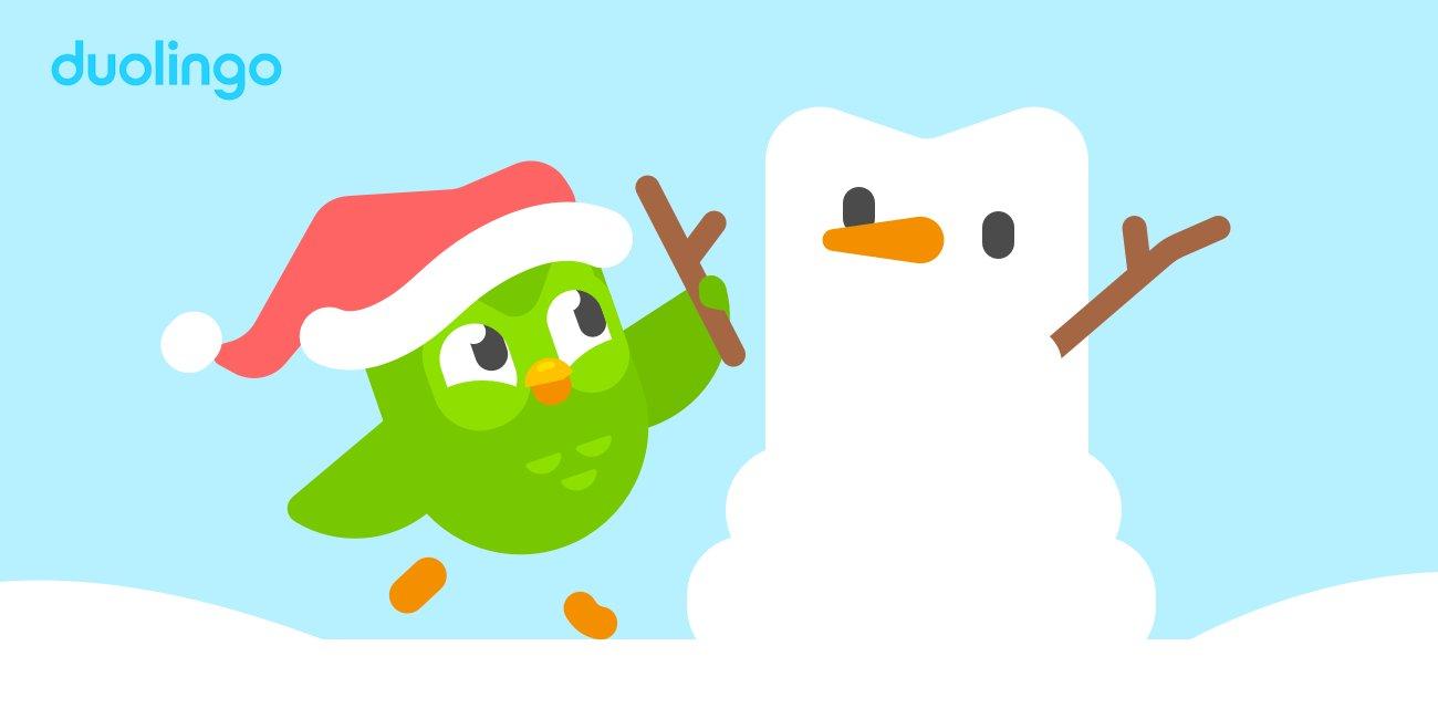 Duolingo Christmas Skill 2019 Duolingo on Twitter: