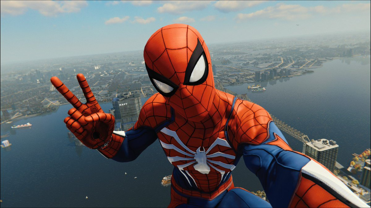 Get Spider Man Ps4 Selfie  Pics