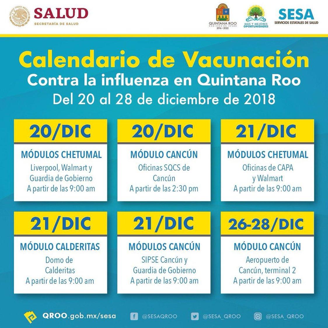 Gobierno Quintana Roo On Twitter Acude A Los Módulos O