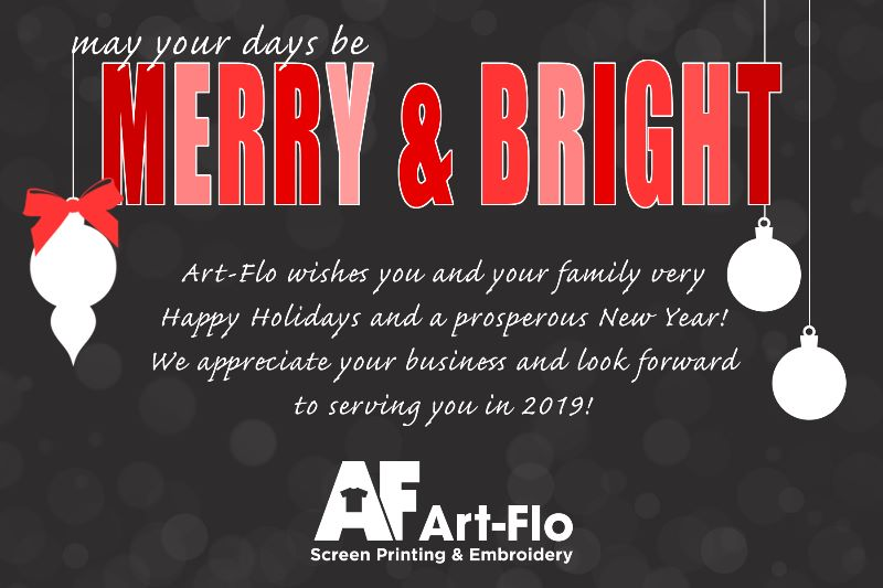 aa706f132 Art-Flo will be closed for the holiday season from Monday, December 24th  through Wednesday, January 2nd. Our sales staff will occasionally check  email ...