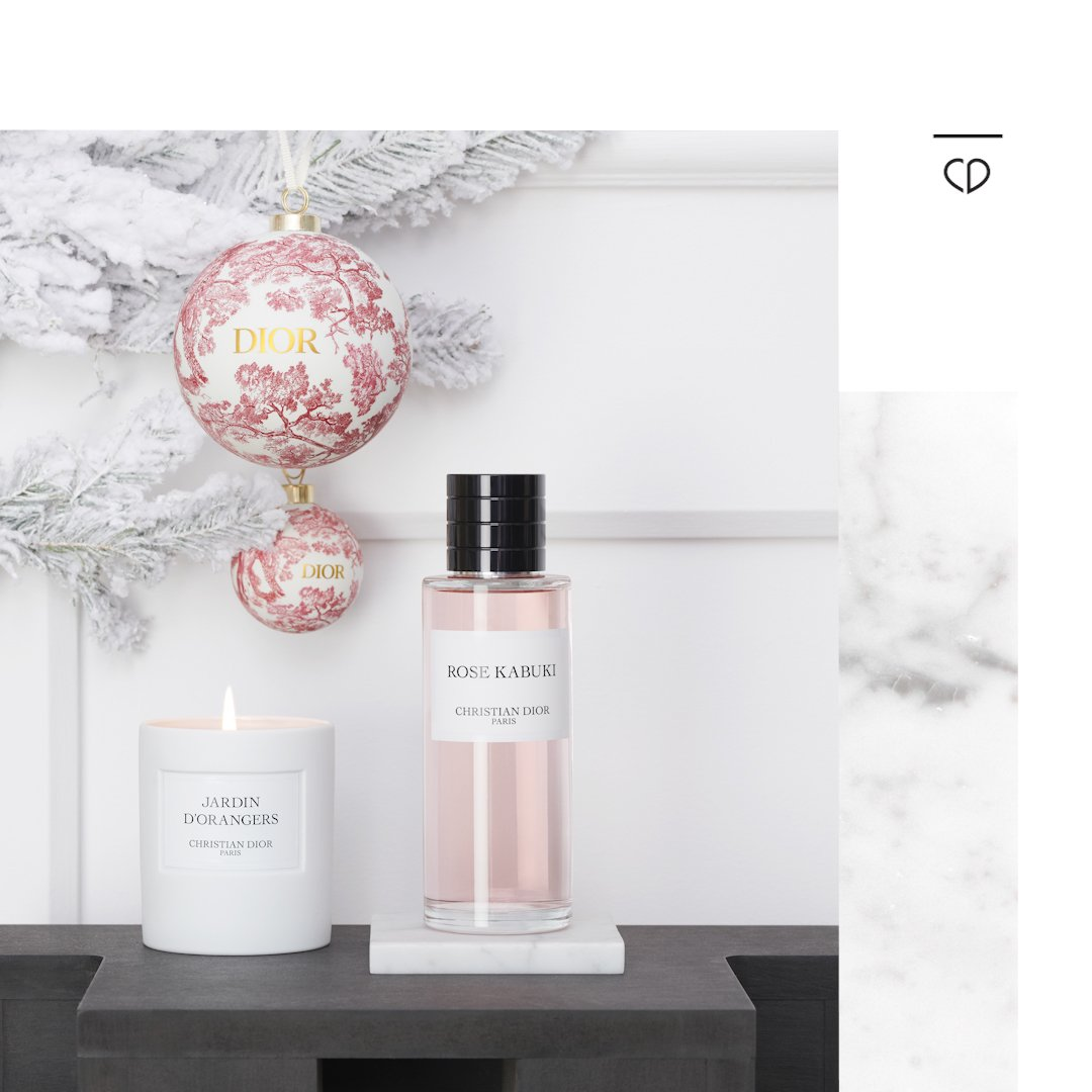 Dior On Twitter The Holidays Light Up Maison Christian Dior Get
