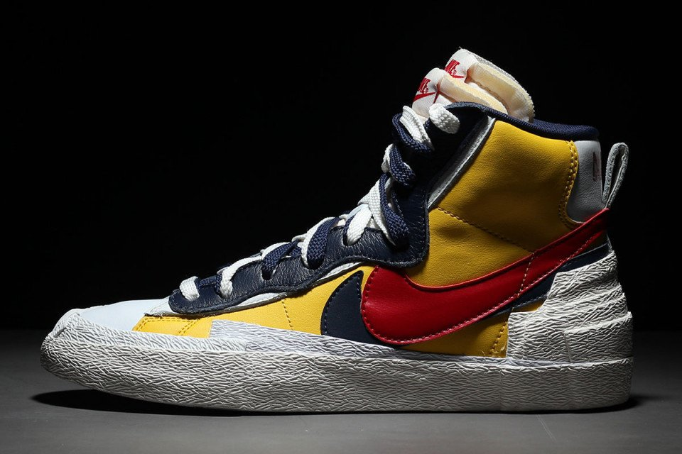 half off 422ed 08aa1 heres our best look yet at the rumored sacai x nike blazer mid