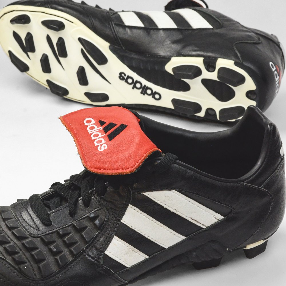 c47de5fdb3cd ... Predator boot Adidas increased the area covered by the fins even  further than the previous Rapier model. One of the greatest boots of  all-time.
