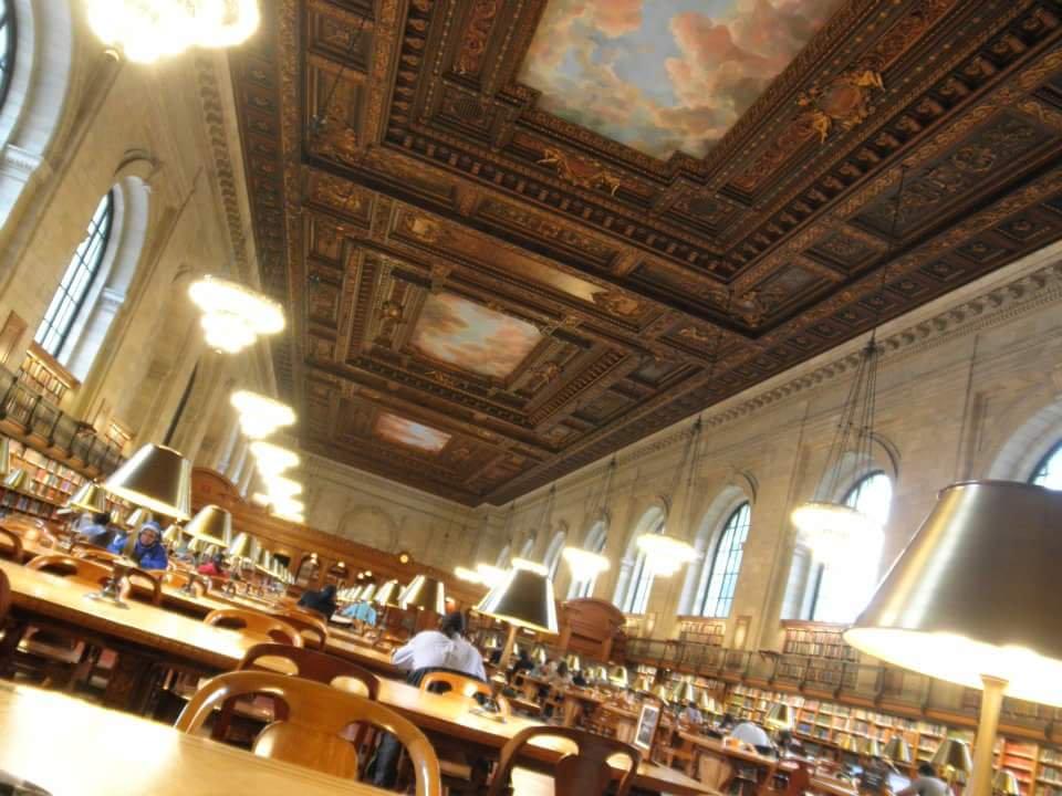 バナナ フィッシュ 図書館