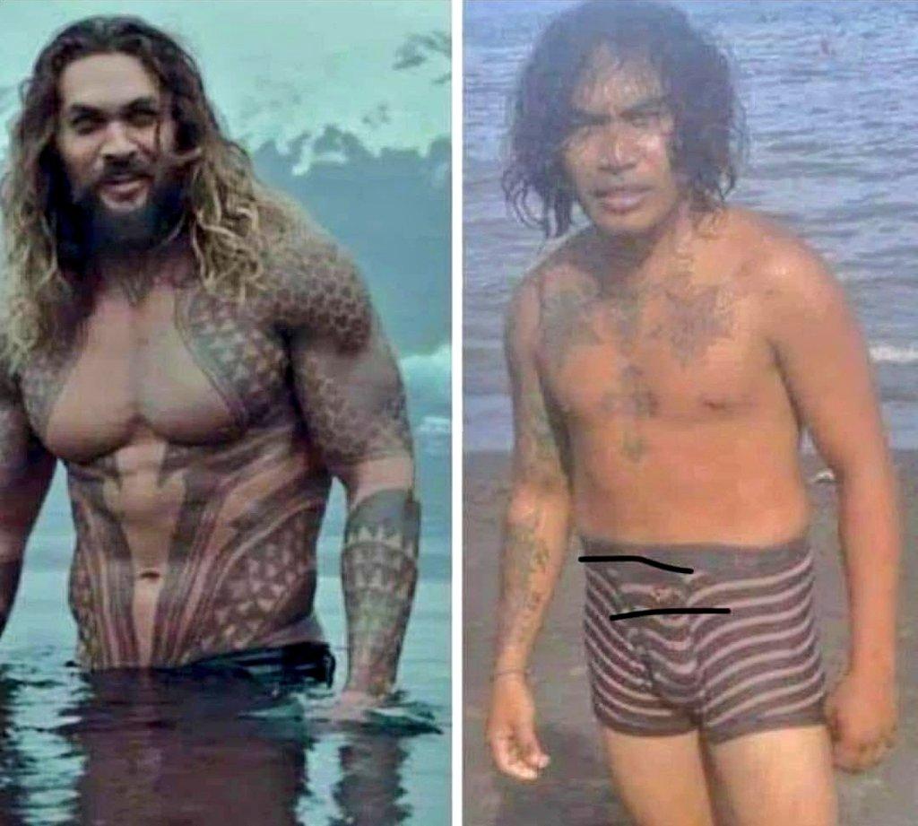 """Rataiz no Twitter: """"Cuando te pides el póster de #Aquaman por #aliexpress  Vs cuando te llega a casa...… """""""