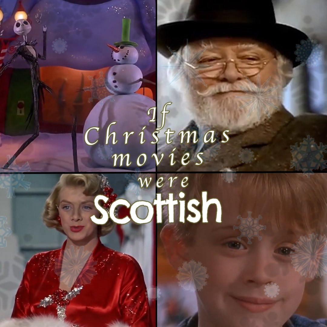 Imagine all Christmas movies were made in Scotland 🤣🎅  From @JaeDangerMate  See more from Short Stuff: https://bbc.in/2R3o8B1