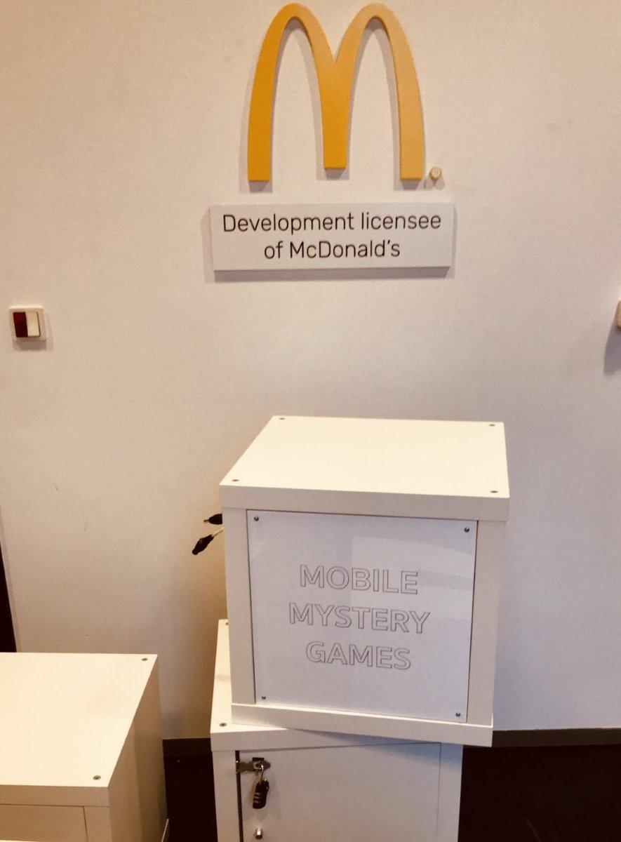 36c8c26aa06 I sidste uge besøgte vi McDonalds Danmark med vores Mobile Escape Room -  sjov og overraskende teambuilding!