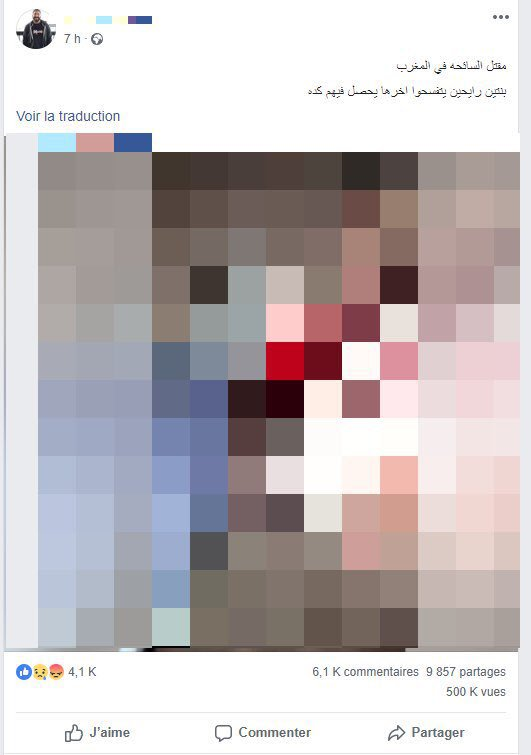 Morocco beheading video on JumPic com