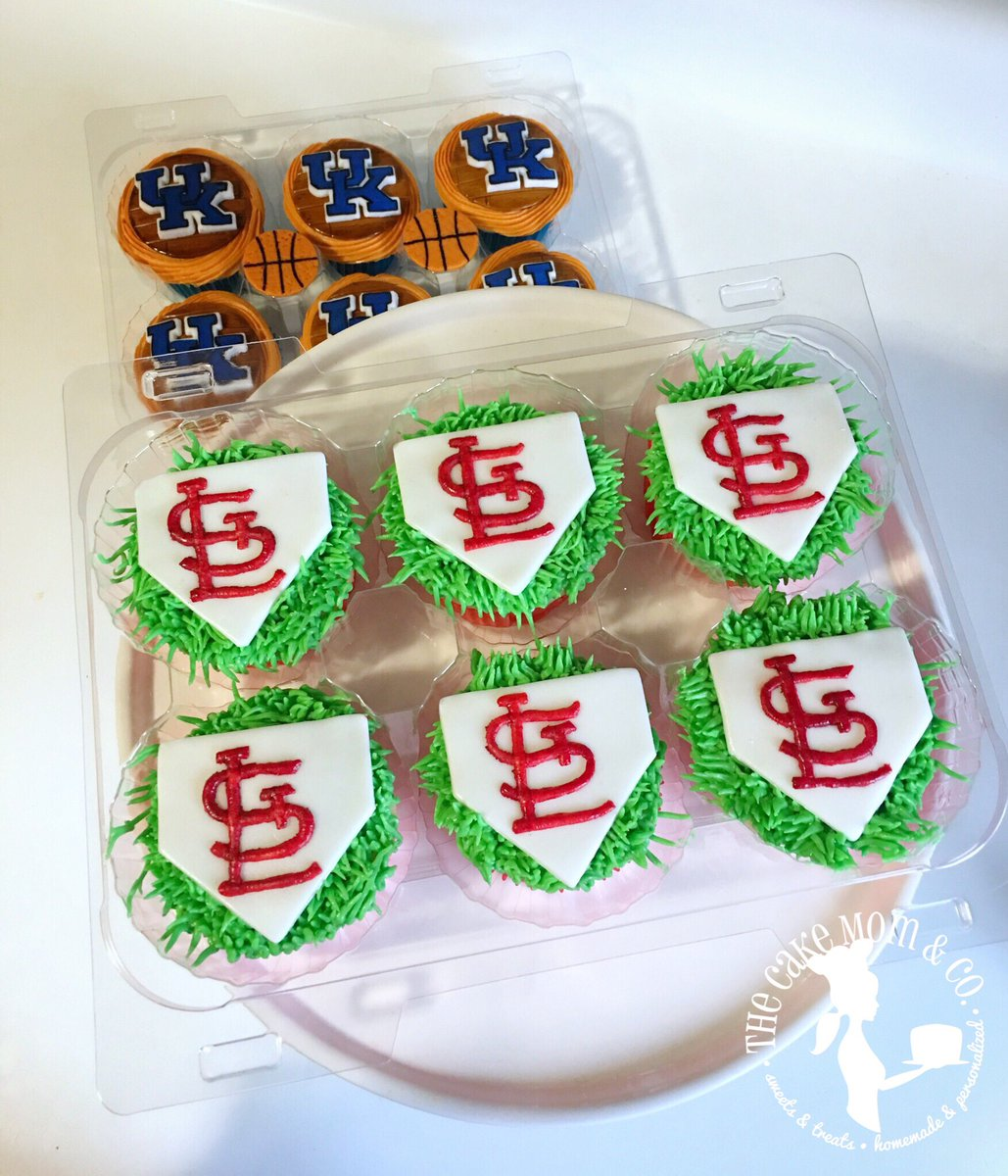 Surprising The Cake Mom Co On Twitter St Louis Cardinals Themed Funny Birthday Cards Online Fluifree Goldxyz