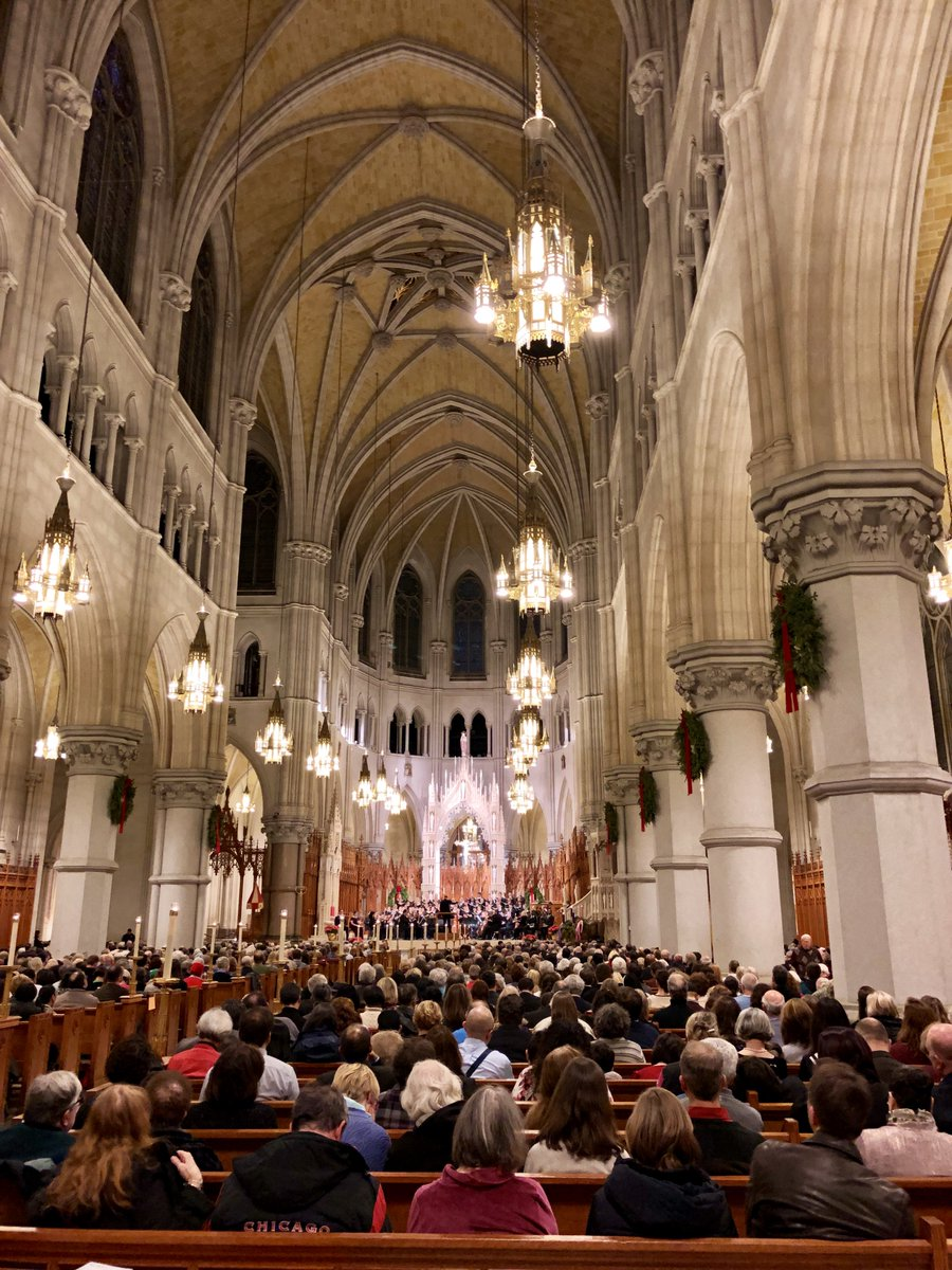 New Jersey Symphony On Twitter Tbt On 12 16 The Cathedral Basilica Of Sacred Heart In Newark Provided A Beautiful Setting For The Njso Msucali Singers Performance Of Handel S Messiah Njso