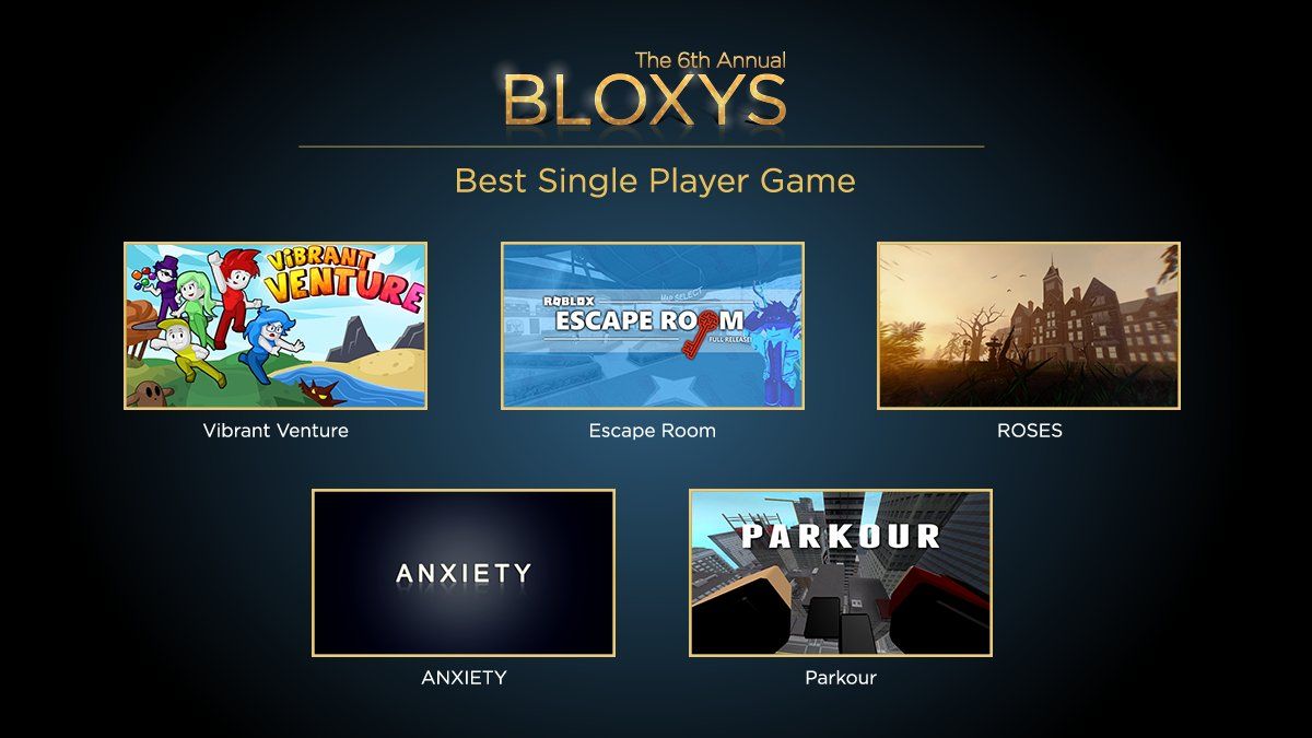 Roblox On Twitter Just You Yourself And One Of These Nominees