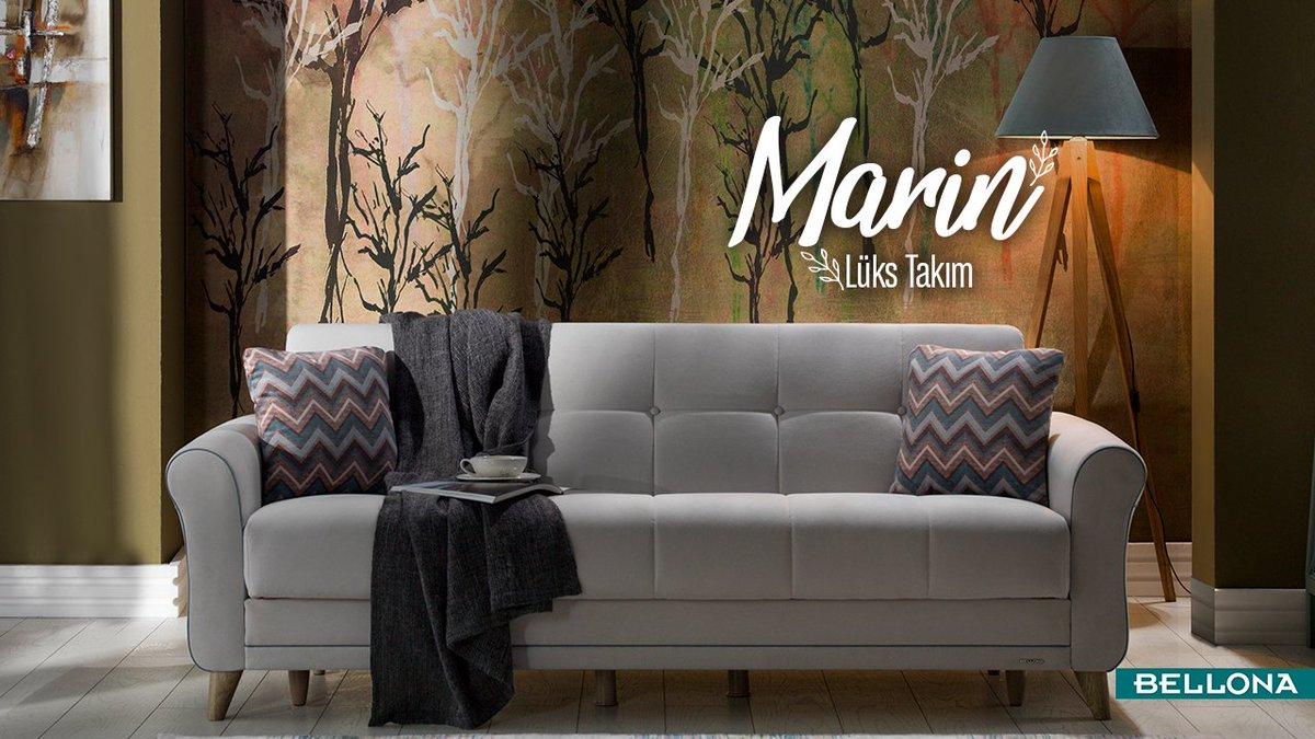 Ev dekorasyonunuzun karakterini oturma odanızın stili belirler. Sade ve modern bir tarza sahip Marin oturma odanıza uyuyor mu? http://bit.ly/MarinLüksTakim #Bellona #Dekorasyon #TarzArayanaBellona #interiordesign #decor