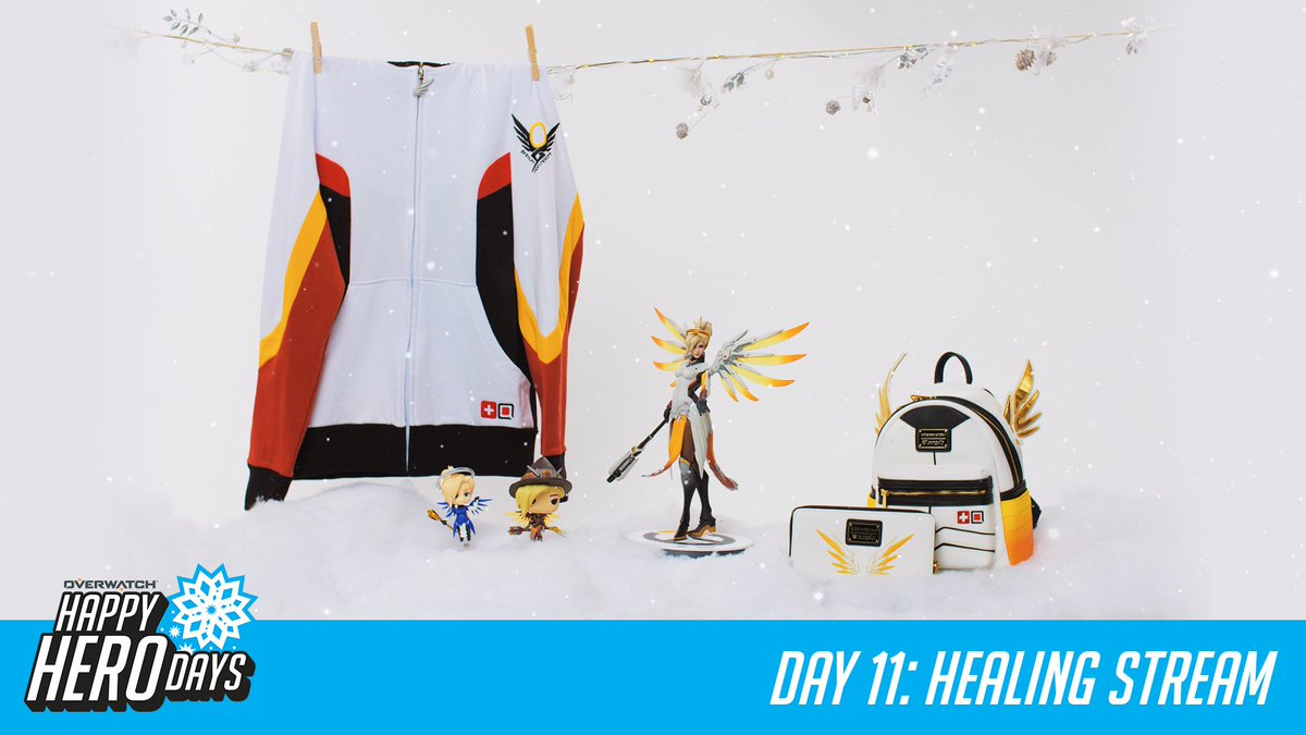 #HappyHeroDays! 12 prizes, 12 days.  Day 11: Healing Stream   RT for a chance to win today's prize from @OriginalFunko and @Loungefly and RT every day for a chance to win a GRAND PRIZE package from @msiUSA.   📜 http://Blizz.ly/2zPpxow