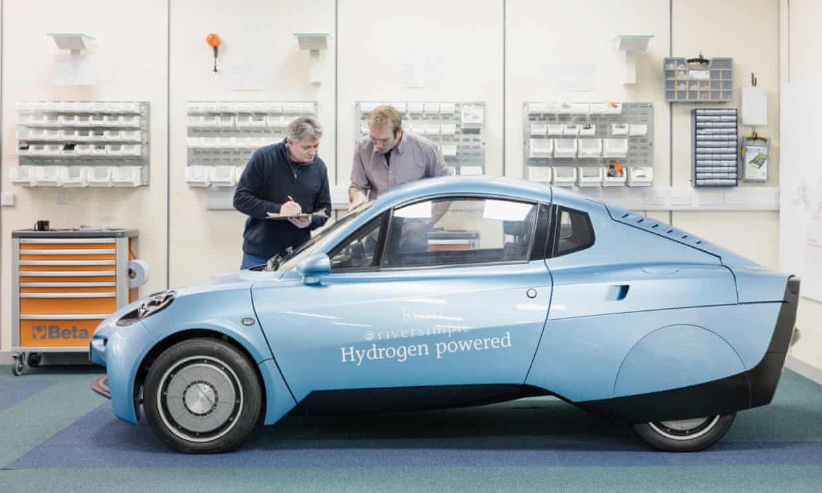 Make It A Contender For The Most Sustainable Car In World Https Www Theguardian Technology 2018 Jan 20 Hydrogen Cars Hugo Ss Future
