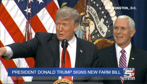 78c1500a449 Watch live: after months of negotiations, president donald trump is set to  sign the updated farm bill - scoopnest.com