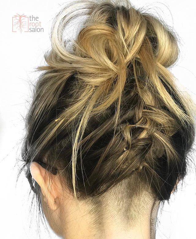 The Root Salon On Twitter A Funky Updo Style Brittdlox